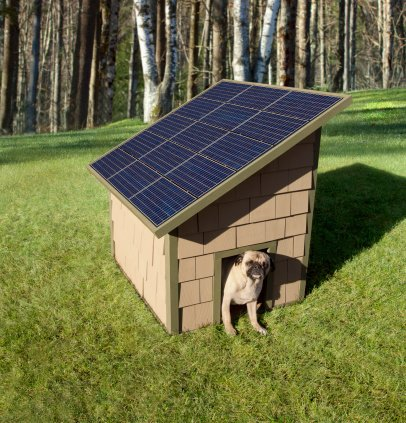 solar-power-dog-house