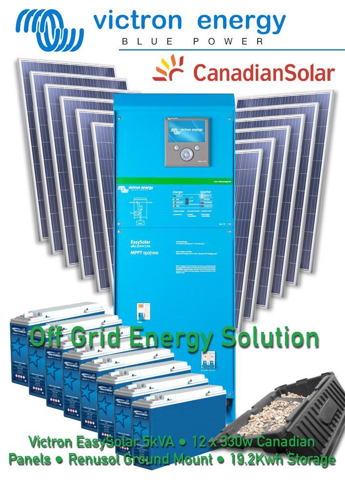 Victron Easysolar Off Grid Kit Solar Northstar Lead