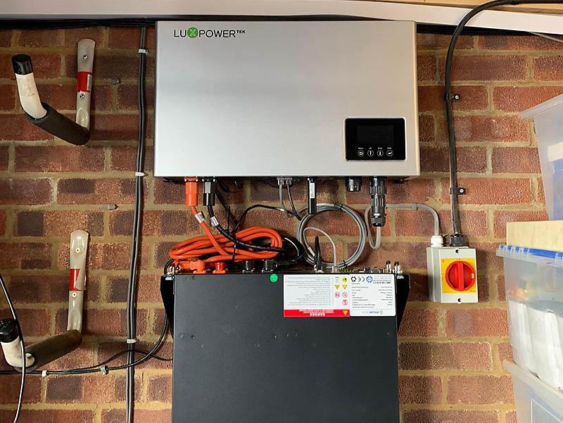 luxpowertek storage system