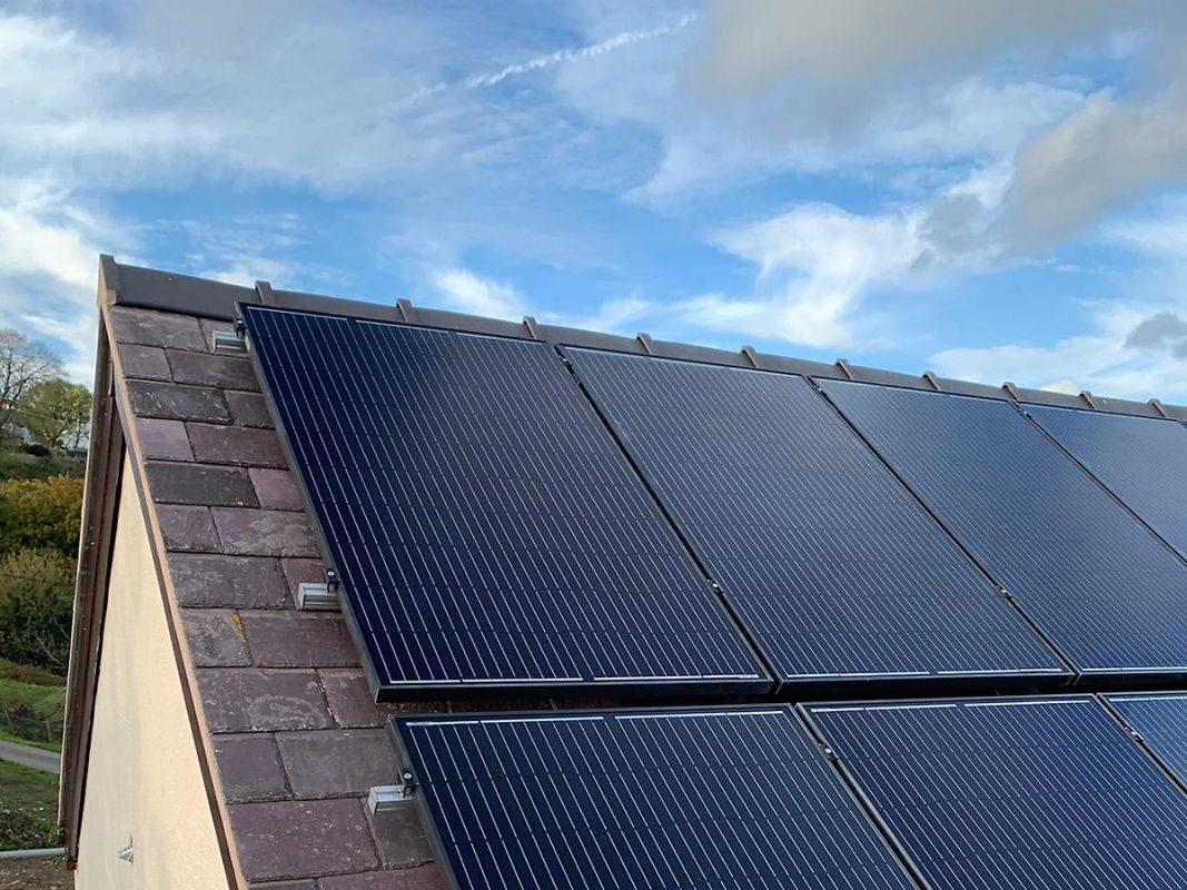 solar panels in wales