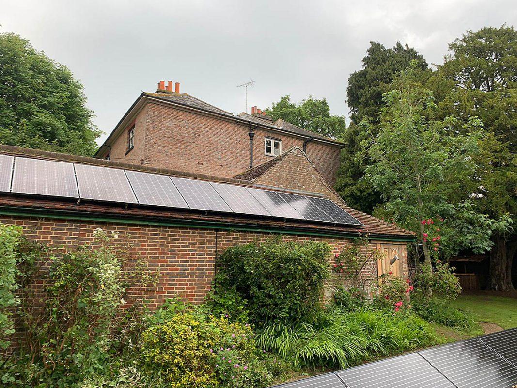 solar panels in surrey